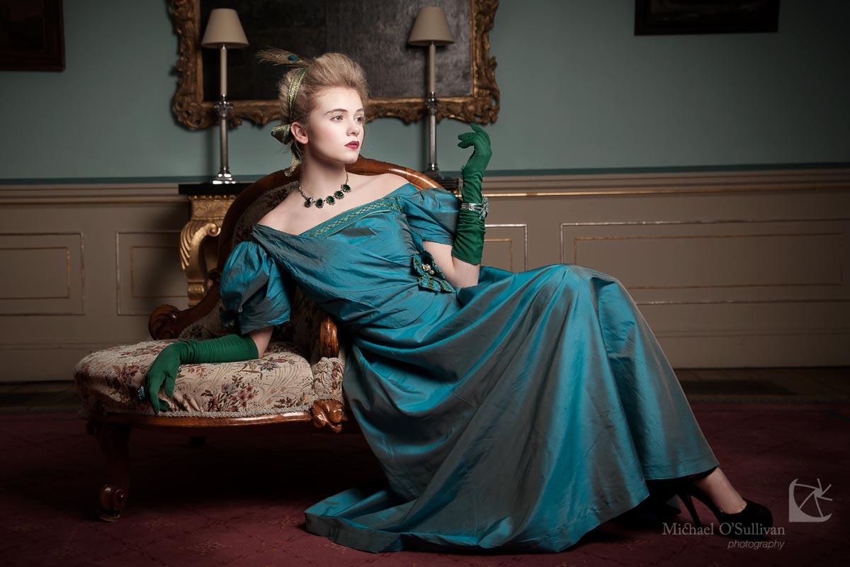 Above - Model: Leah McNamara