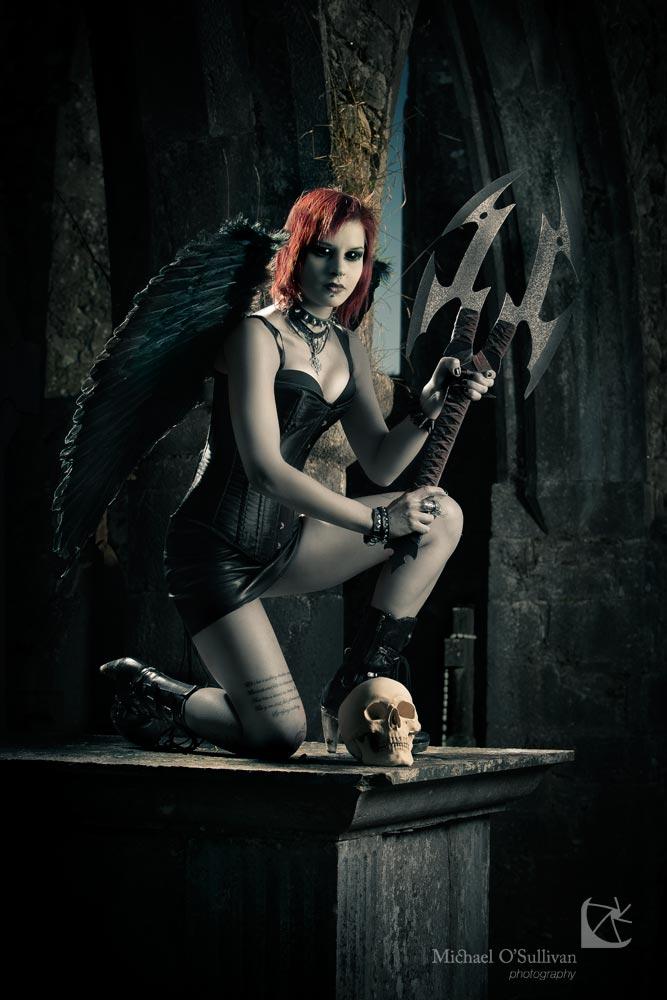 """Above - Fallen Angels Series - """"Revelations 2; Angel of Revelation"""" Model: Vita Klaro"""